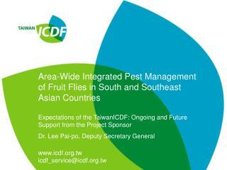 Area-Wide Integrated Pest Management of Fruit Flies in South and Southeast Asian Countries
