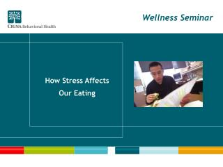 How Stress Affects Our Eating