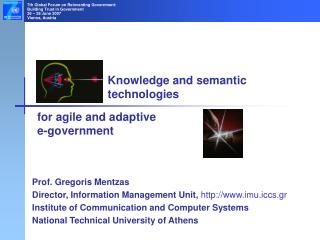 Knowledge and semantic technologies