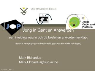 Mark Elchardus Mark.Elchardus@vub.ac.be