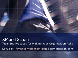 XP and Scrum