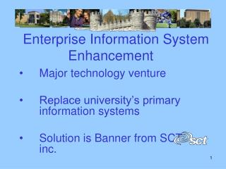 Enterprise Information System  		Enhancement