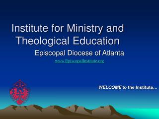 Institute for Ministry and Theological Education