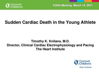 Sudden Cardiac Death in the Young Athlete