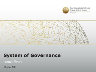 System of Governance
