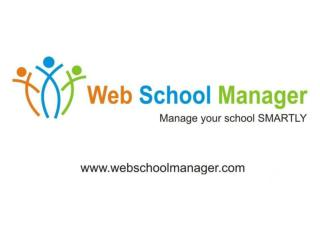 Web School Manager