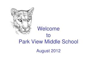 Welcome  to Park View Middle School