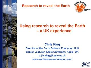 Research to reveal the Earth