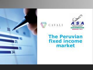 The Peruvian fixed income market