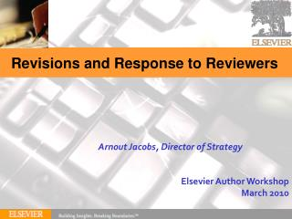 Revisions and Response to Reviewers