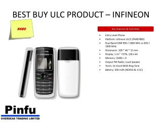 BEST BUY ULC PRODUCT – INFINEON