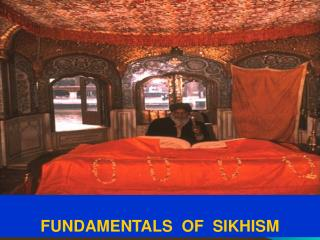 FUNDAMENTALS  OF  SIKHISM