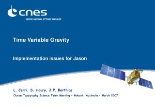 Time Variable Gravity