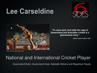 Lee Carseldine