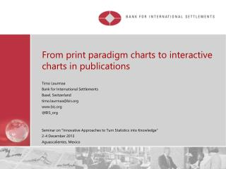 From print paradigm charts to interactive charts in publications