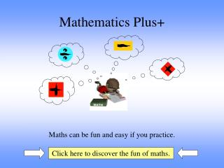 Mathematics Plus+