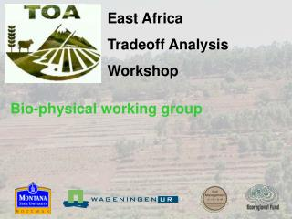East Africa  Tradeoff Analysis Workshop