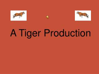 A Tiger Production
