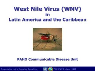 West Nile Virus (WNV) in  Latin America and the Caribbean