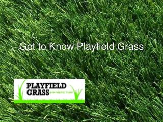 Get to Know Playfield Grass