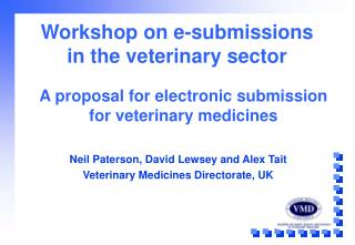 Workshop on e-submissions in the veterinary sector