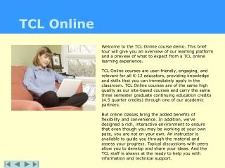 TCL Online