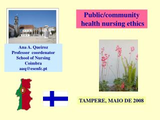 Public/community  health nursing ethics