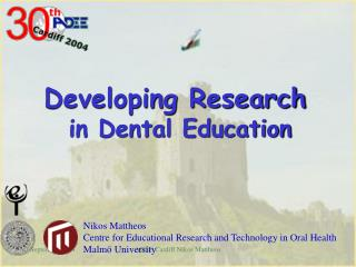 Developing Research in Dental Education