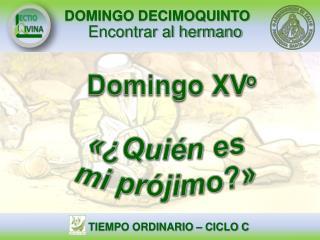 Domingo  XV o