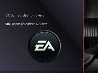 EA Games: Electronic Arts