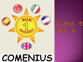 Class : 5 Sec: G