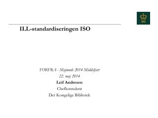 ILL-standardiseringen ISO
