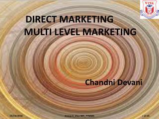 Chandni D evani