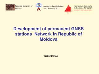 Development of  permanent GNSS stations  Network in Republic of Moldova