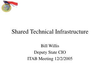 Shared Technical Infrastructure
