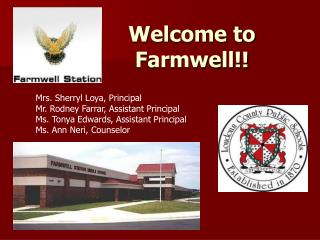 Welcome  to  Farmwell !!