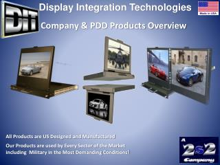 All Products are US Designed and Manufactured