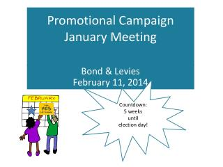 Promotional Campaign January Meeting