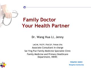 Family Doctor Your Health Partner