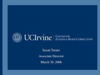 Susan Turner Associate Director March 30, 2006
