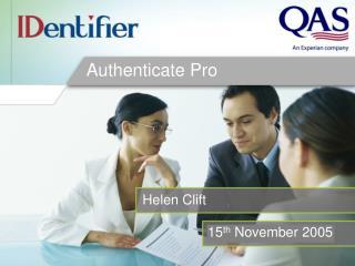 Authenticate Pro