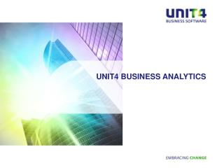 Unit4 Business Analytics