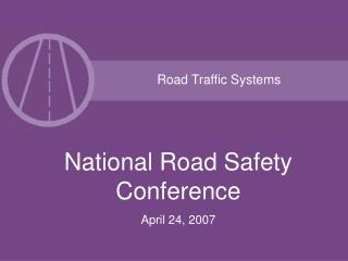 Road Traffic Systems