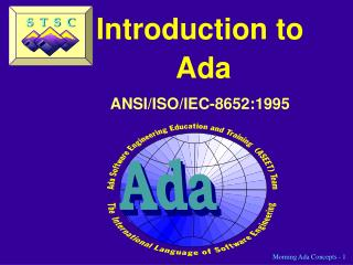 Introduction to  Ada ANSI/ISO/IEC-8652:1995