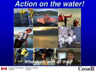 Action on the water!