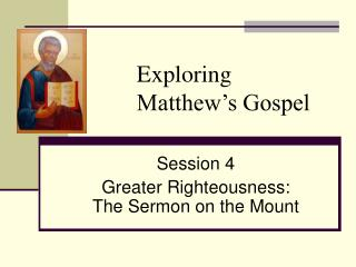 Exploring  Matthew's Gospel