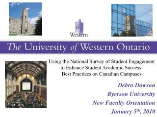Using the National Survey of Student Engagement to Enhance Student Academic Success: