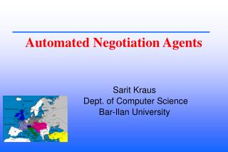 Automated Negotiation Agents