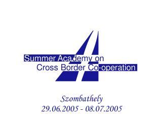 The Zala Mission 4-5 July 2005