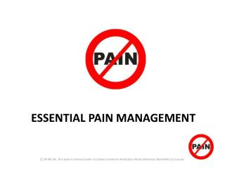 ESSENTIAL PAIN MANAGEMENT
